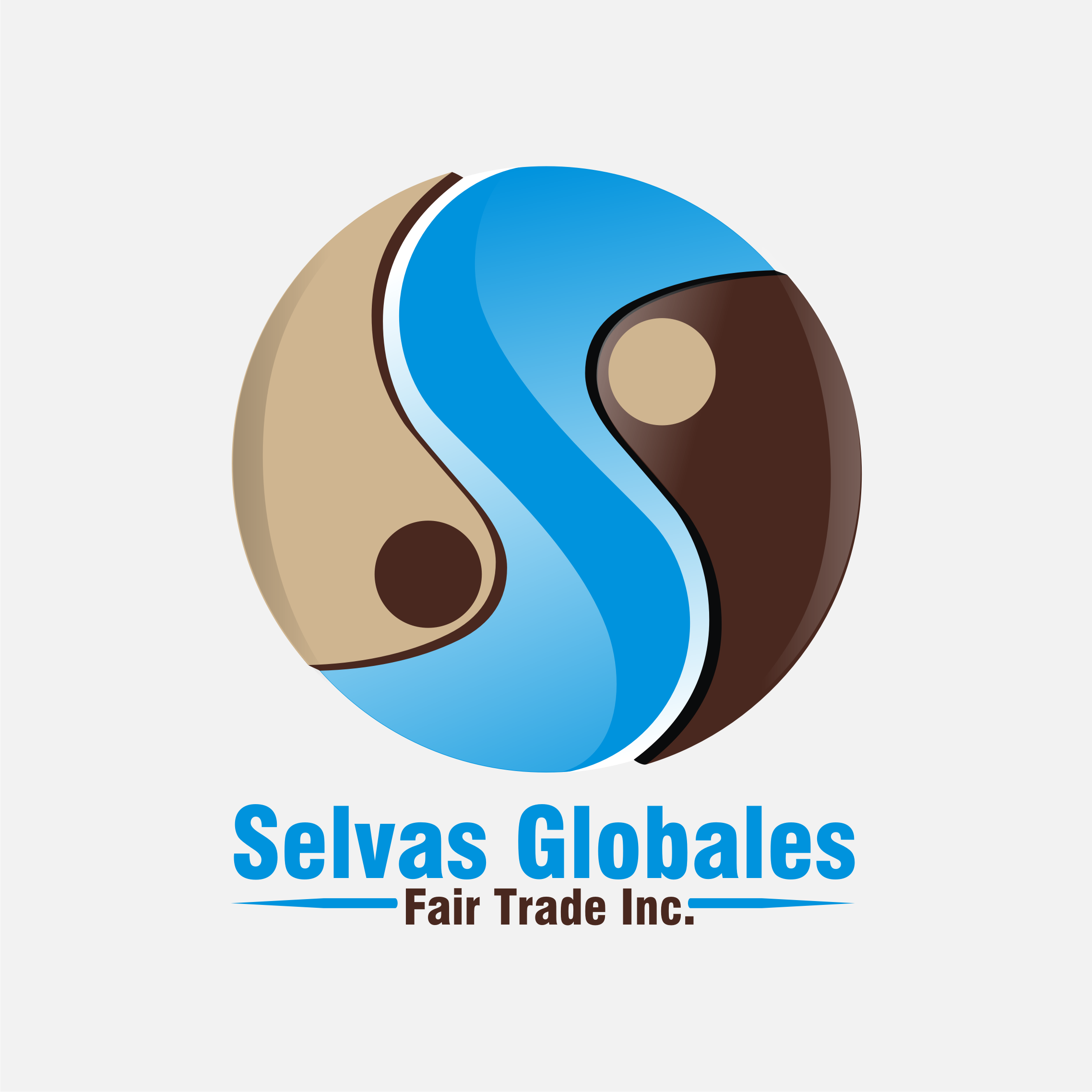 Logo Design by Private User - Entry No. 49 in the Logo Design Contest Captivating Logo Design for Selvas Globales Fair Trade Inc..