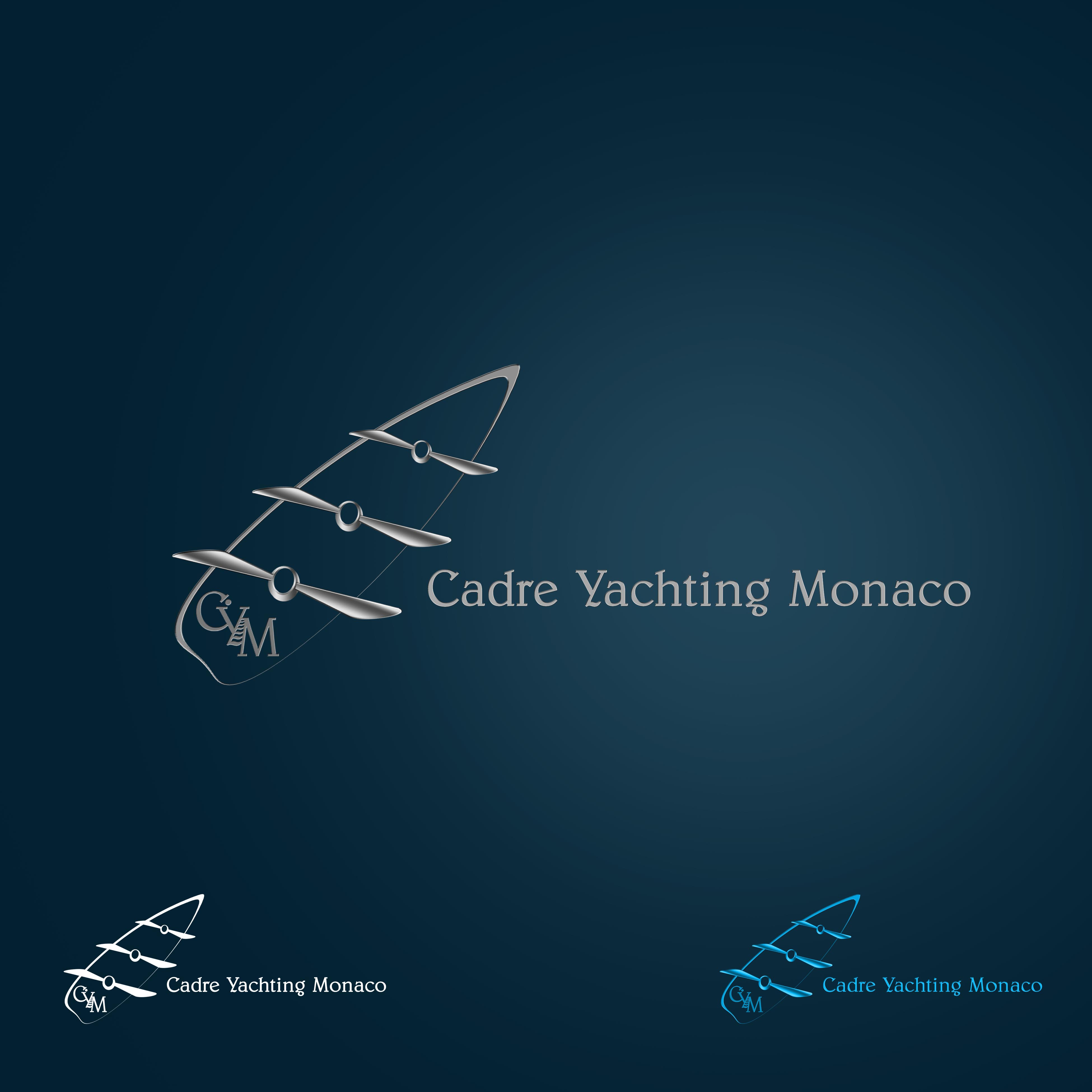 Logo Design by Cesar III Sotto - Entry No. 155 in the Logo Design Contest New Logo Design for Cadre Yachting Monaco.