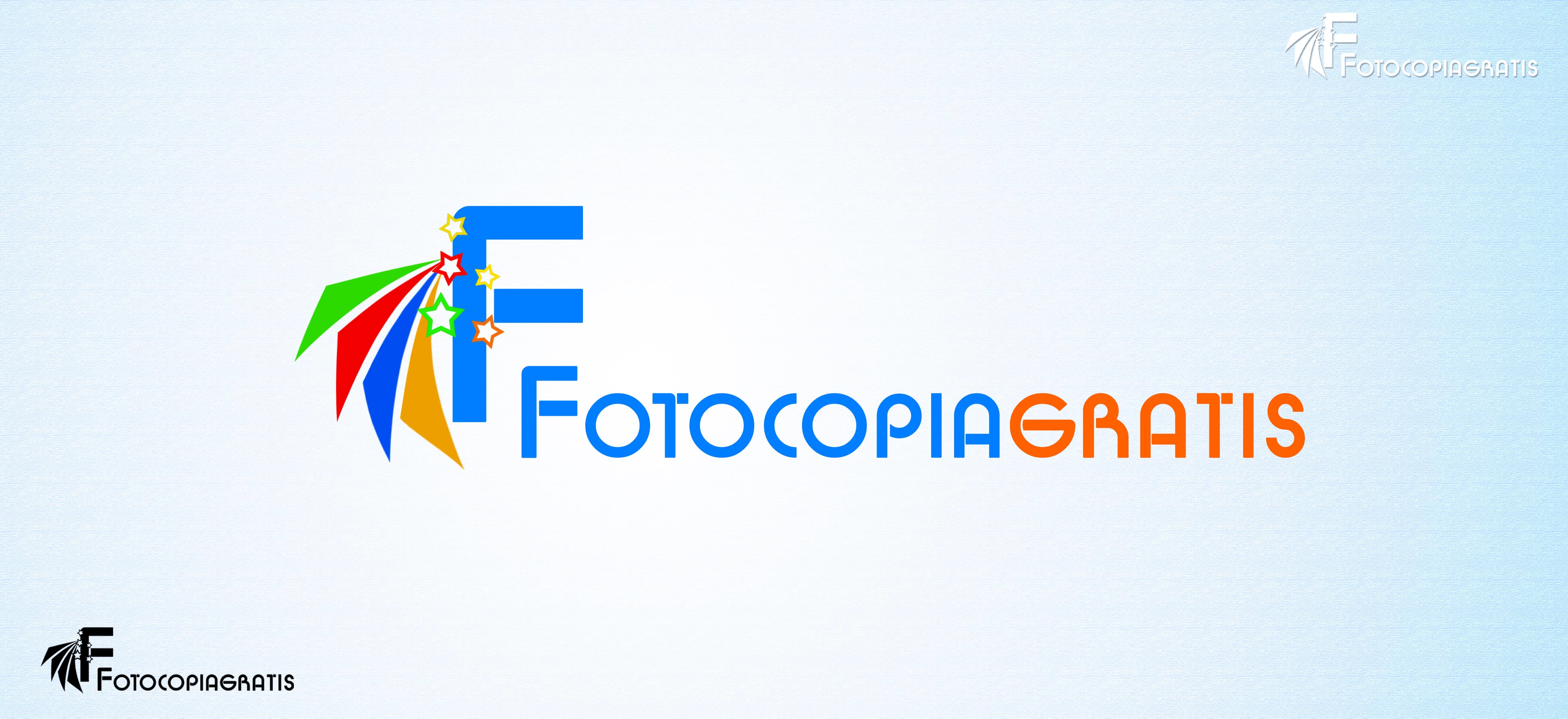 Logo Design by Cesar III Sotto - Entry No. 72 in the Logo Design Contest Inspiring Logo Design for Fotocopiagratis.