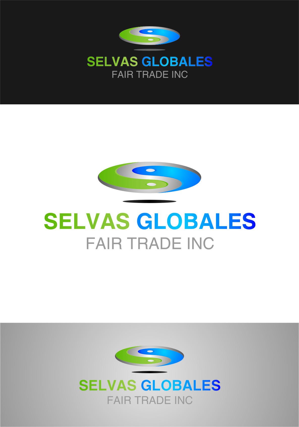 Logo Design by Ngepet_art - Entry No. 57 in the Logo Design Contest Captivating Logo Design for Selvas Globales Fair Trade Inc..