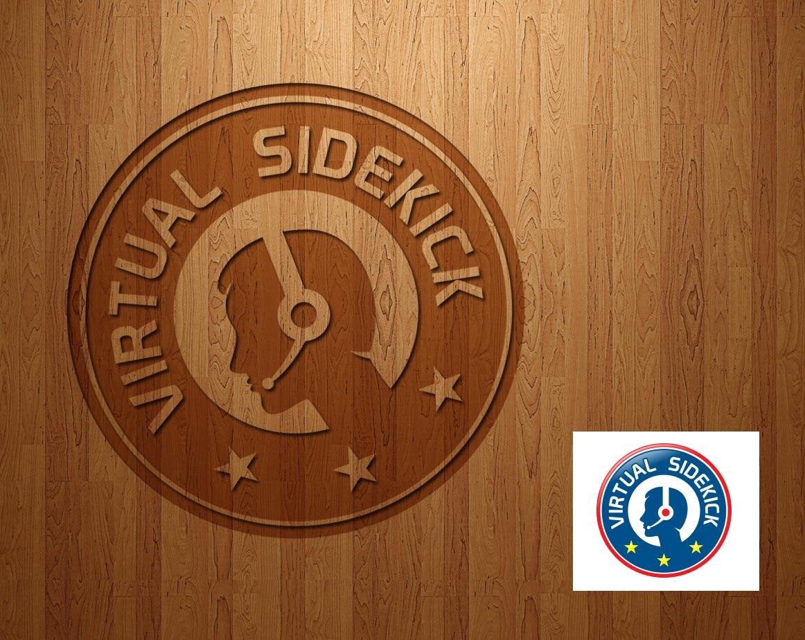 Logo Design by lagalag - Entry No. 6 in the Logo Design Contest Fun Logo Design for Virtual Sidekick.