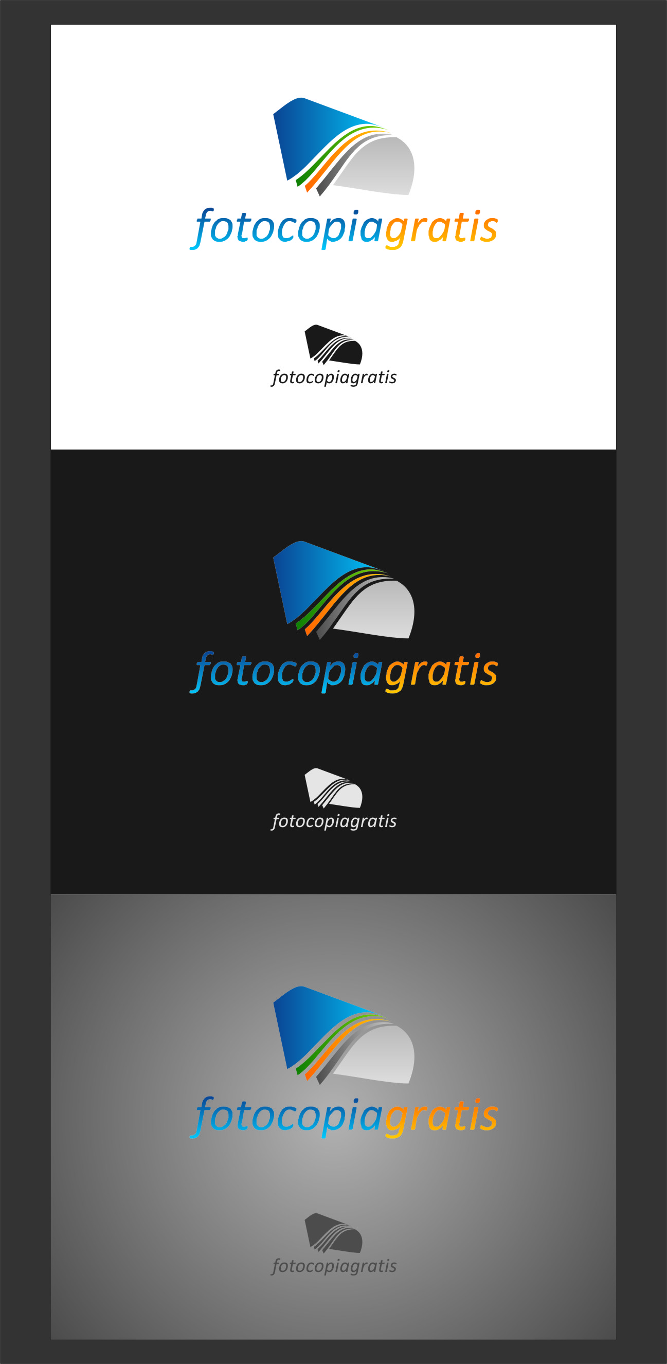 Logo Design by RoSyid Rono-Rene On Java - Entry No. 81 in the Logo Design Contest Inspiring Logo Design for Fotocopiagratis.
