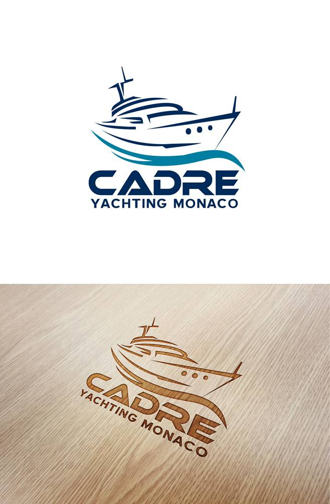 Logo Design by Respati Himawan - Entry No. 175 in the Logo Design Contest New Logo Design for Cadre Yachting Monaco.