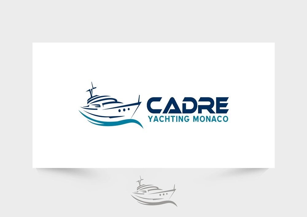 Logo Design by Respati Himawan - Entry No. 176 in the Logo Design Contest New Logo Design for Cadre Yachting Monaco.