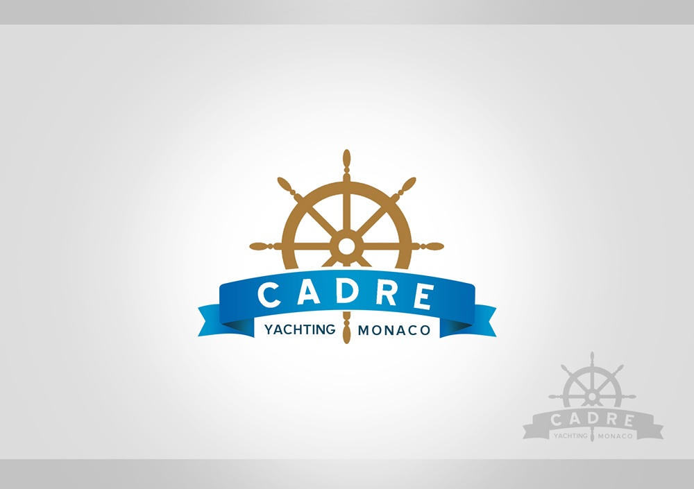 Logo Design by Respati Himawan - Entry No. 177 in the Logo Design Contest New Logo Design for Cadre Yachting Monaco.