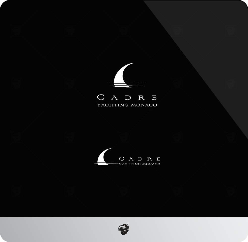 Logo Design by zesthar - Entry No. 180 in the Logo Design Contest New Logo Design for Cadre Yachting Monaco.