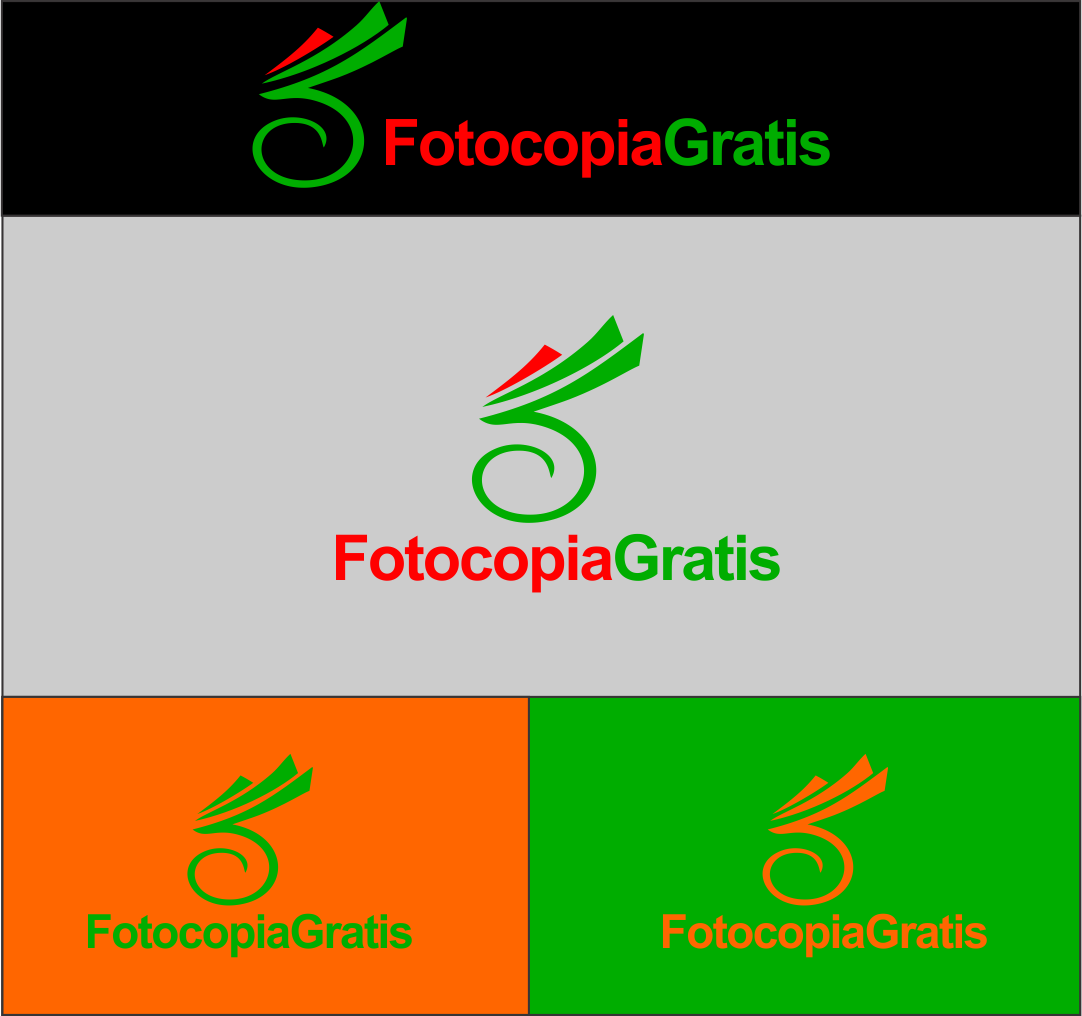 Logo Design by Agus Martoyo - Entry No. 89 in the Logo Design Contest Inspiring Logo Design for Fotocopiagratis.