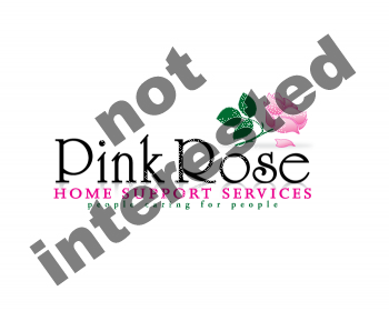 Logo Design by Gmars - Entry No. 129 in the Logo Design Contest Pink Rose Home Support Services.