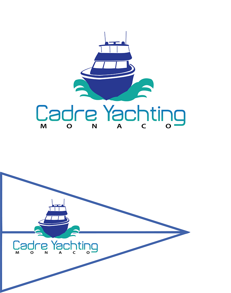 Logo Design by robken0174 - Entry No. 184 in the Logo Design Contest New Logo Design for Cadre Yachting Monaco.