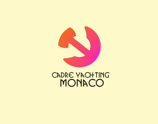 Logo Design by Rahman Hakim Ncd - Entry No. 185 in the Logo Design Contest New Logo Design for Cadre Yachting Monaco.