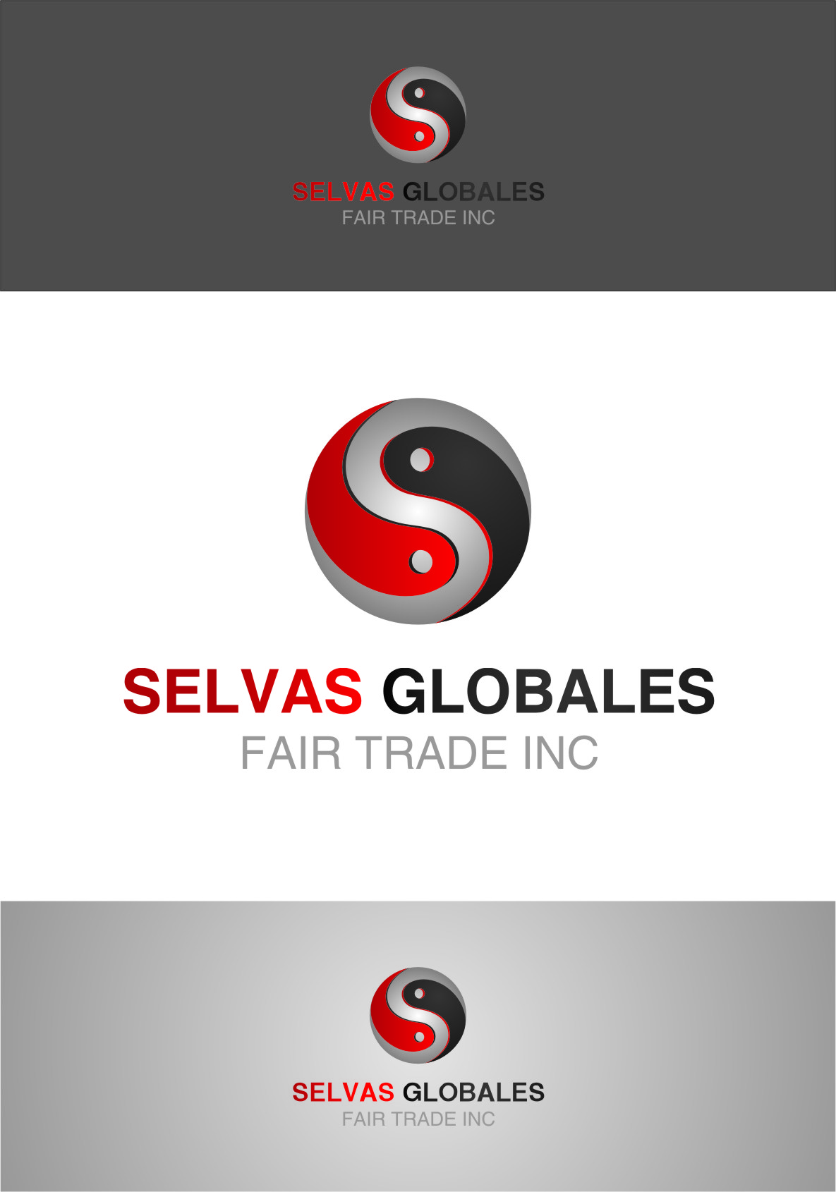 Logo Design by Ngepet_art - Entry No. 68 in the Logo Design Contest Captivating Logo Design for Selvas Globales Fair Trade Inc..