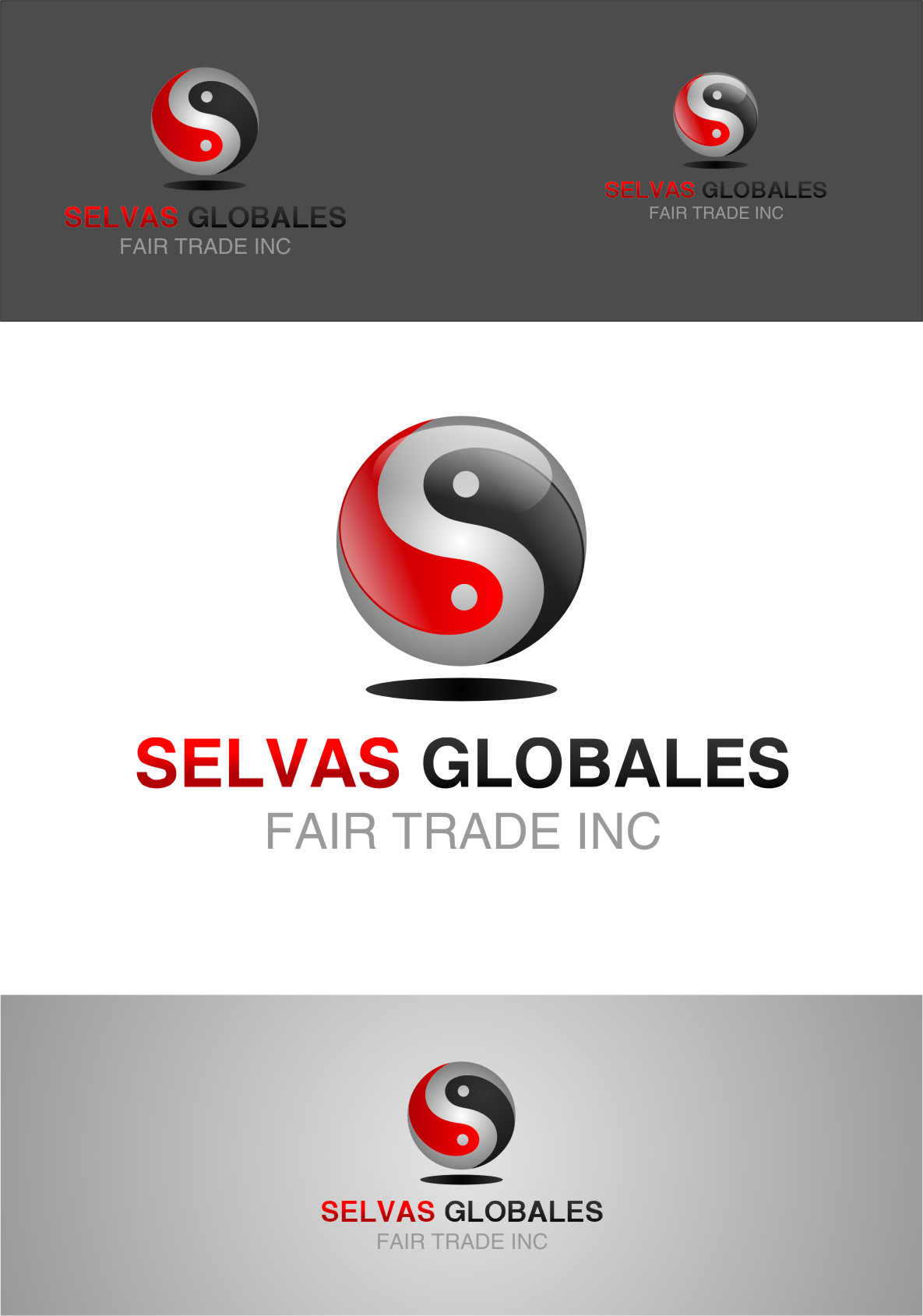 Logo Design by RasYa Muhammad Athaya - Entry No. 70 in the Logo Design Contest Captivating Logo Design for Selvas Globales Fair Trade Inc..