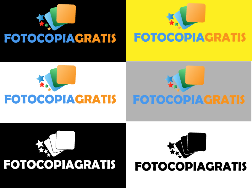 Logo Design by Jerry Nable Jr - Entry No. 91 in the Logo Design Contest Inspiring Logo Design for Fotocopiagratis.