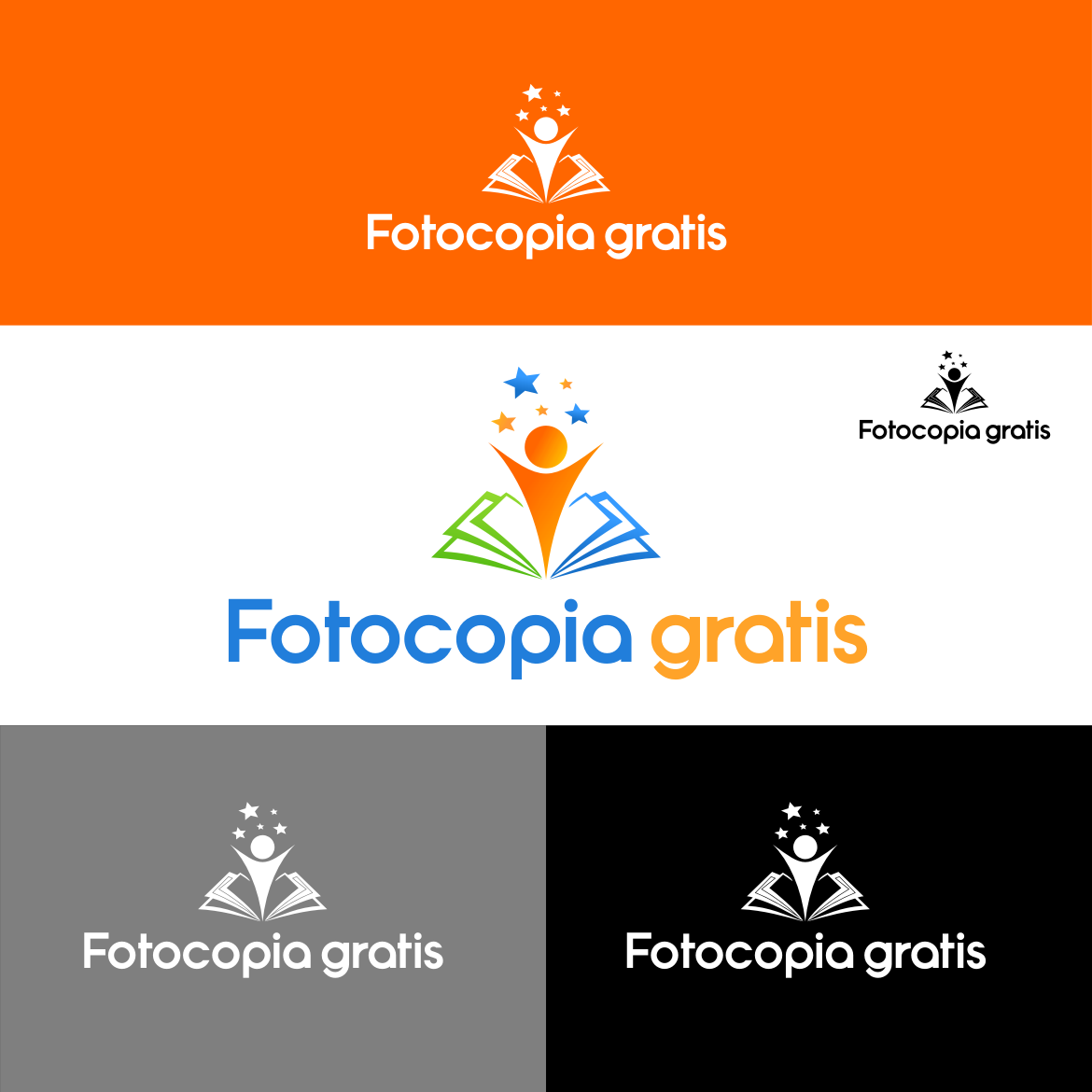 Logo Design by rifatz - Entry No. 98 in the Logo Design Contest Inspiring Logo Design for Fotocopiagratis.
