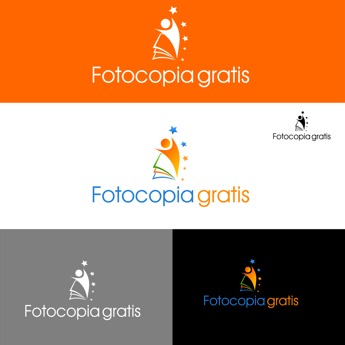 Logo Design by rifatz - Entry No. 100 in the Logo Design Contest Inspiring Logo Design for Fotocopiagratis.