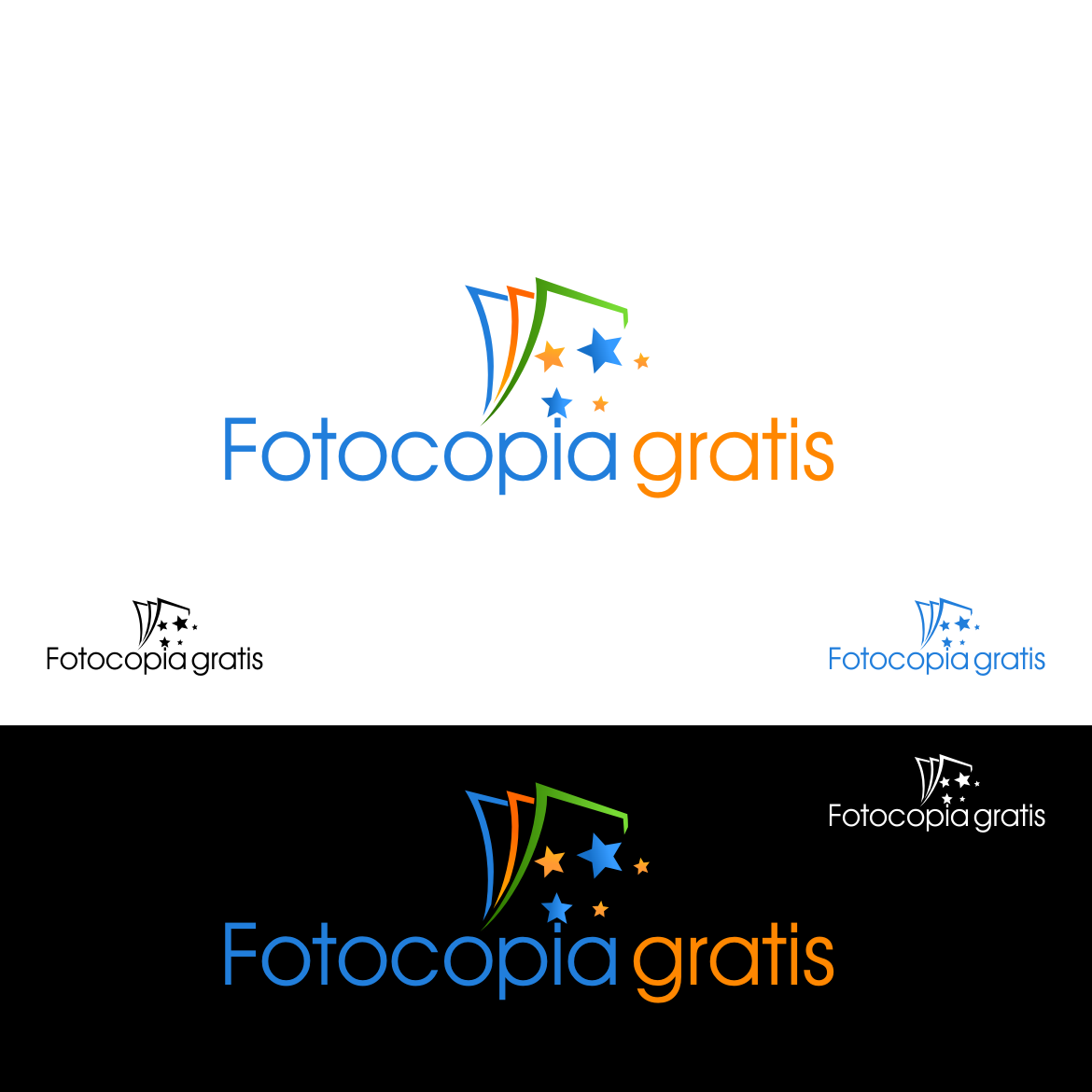 Logo Design by rifatz - Entry No. 101 in the Logo Design Contest Inspiring Logo Design for Fotocopiagratis.