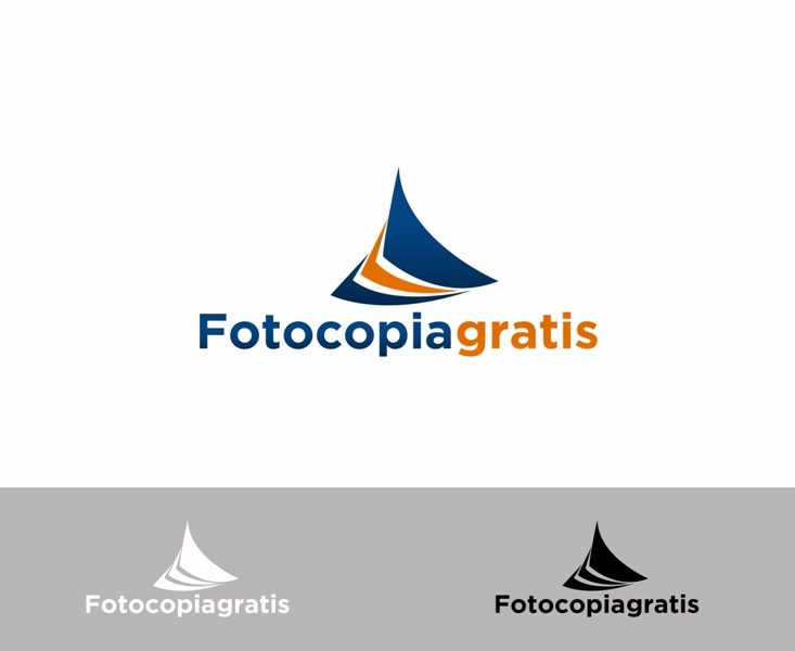 Logo Design by Juan_Kata - Entry No. 106 in the Logo Design Contest Inspiring Logo Design for Fotocopiagratis.