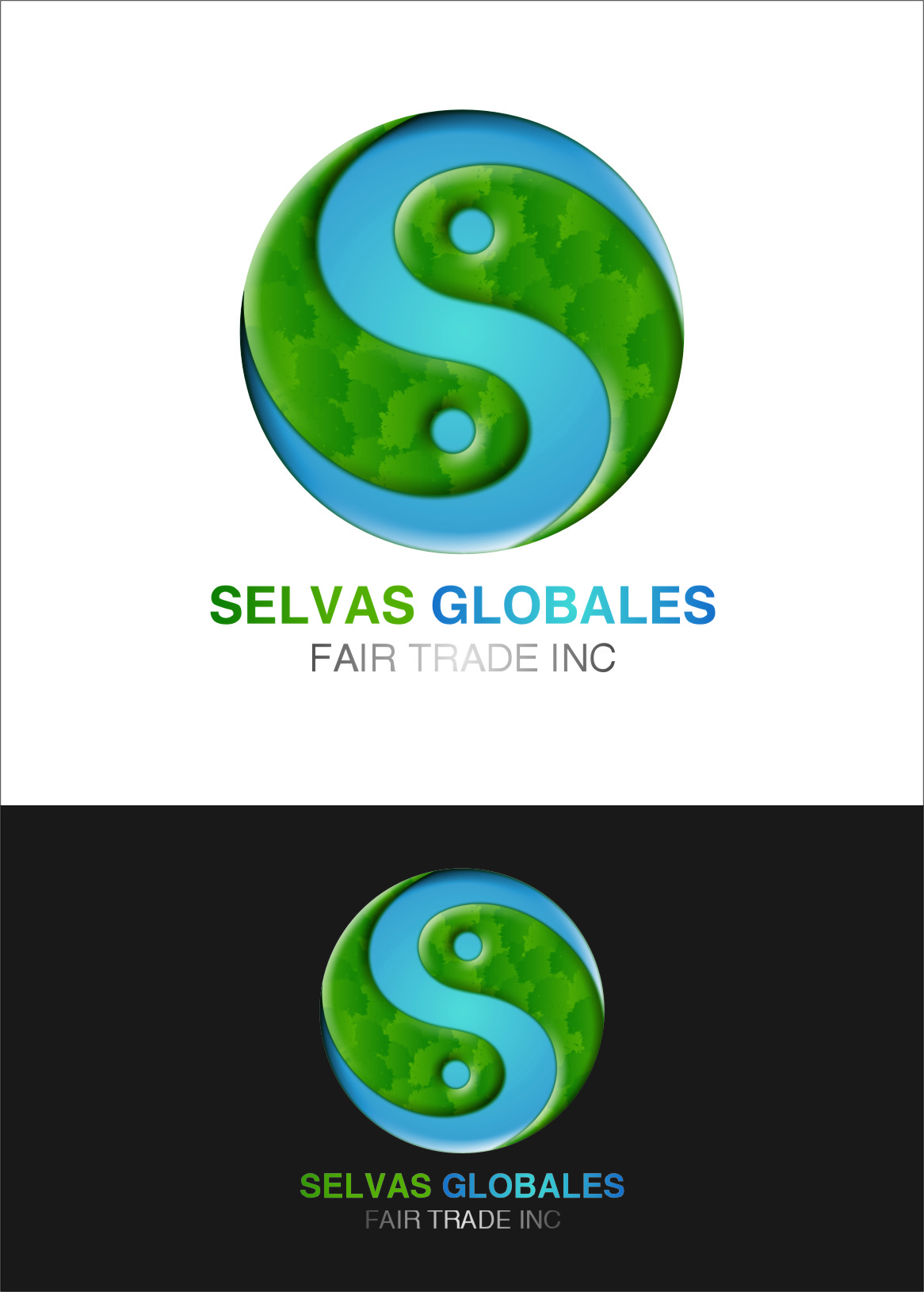 Logo Design by RasYa Muhammad Athaya - Entry No. 80 in the Logo Design Contest Captivating Logo Design for Selvas Globales Fair Trade Inc..