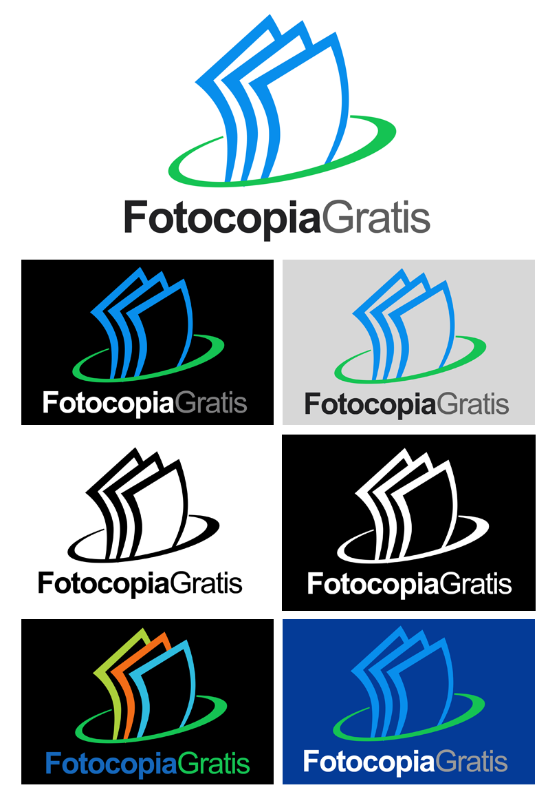 Logo Design by Private User - Entry No. 108 in the Logo Design Contest Inspiring Logo Design for Fotocopiagratis.