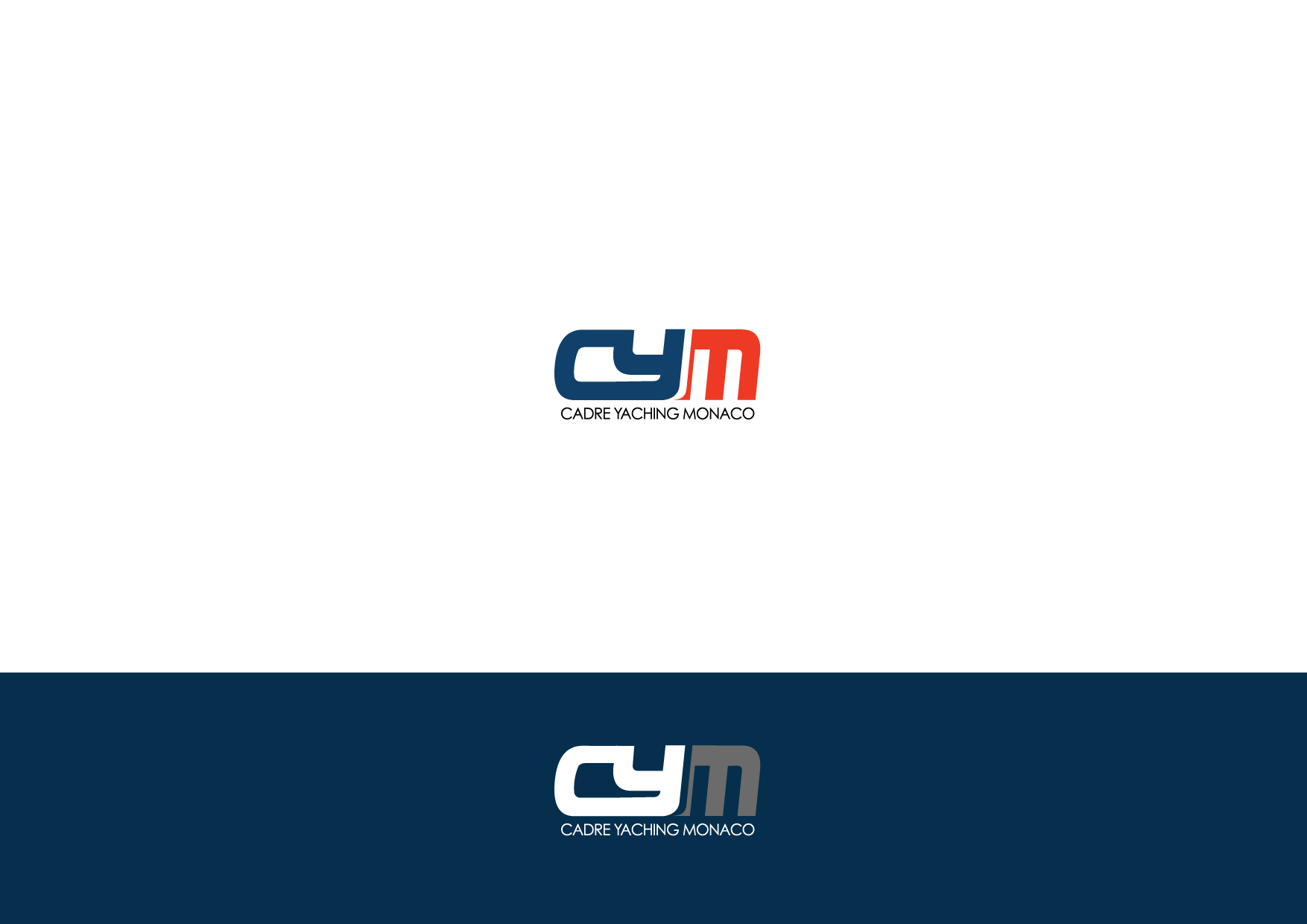 Logo Design by Private User - Entry No. 216 in the Logo Design Contest New Logo Design for Cadre Yachting Monaco.