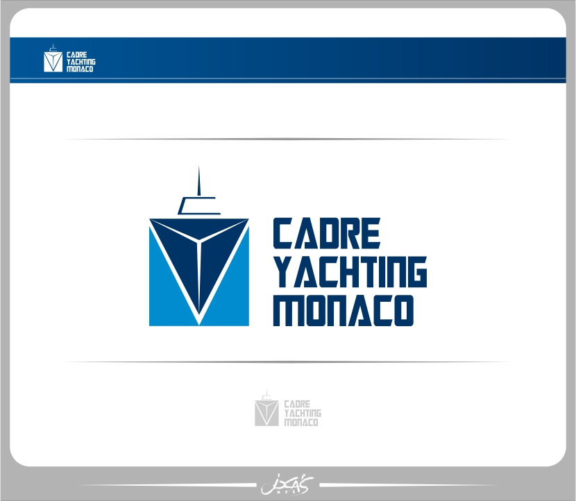 Logo Design by joca - Entry No. 217 in the Logo Design Contest New Logo Design for Cadre Yachting Monaco.