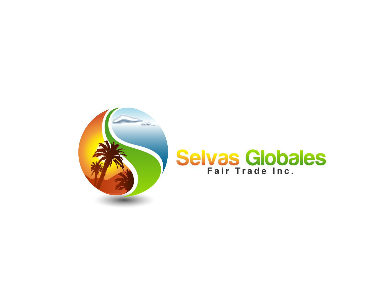 Logo Design by Jagdeep Singh - Entry No. 96 in the Logo Design Contest Captivating Logo Design for Selvas Globales Fair Trade Inc..