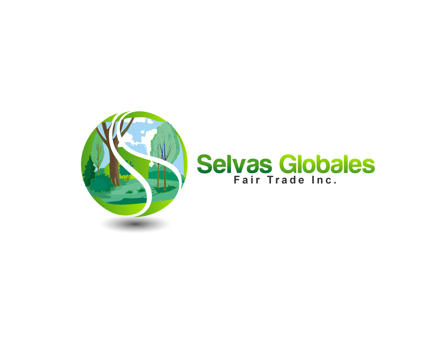 Logo Design by Jagdeep Singh - Entry No. 98 in the Logo Design Contest Captivating Logo Design for Selvas Globales Fair Trade Inc..