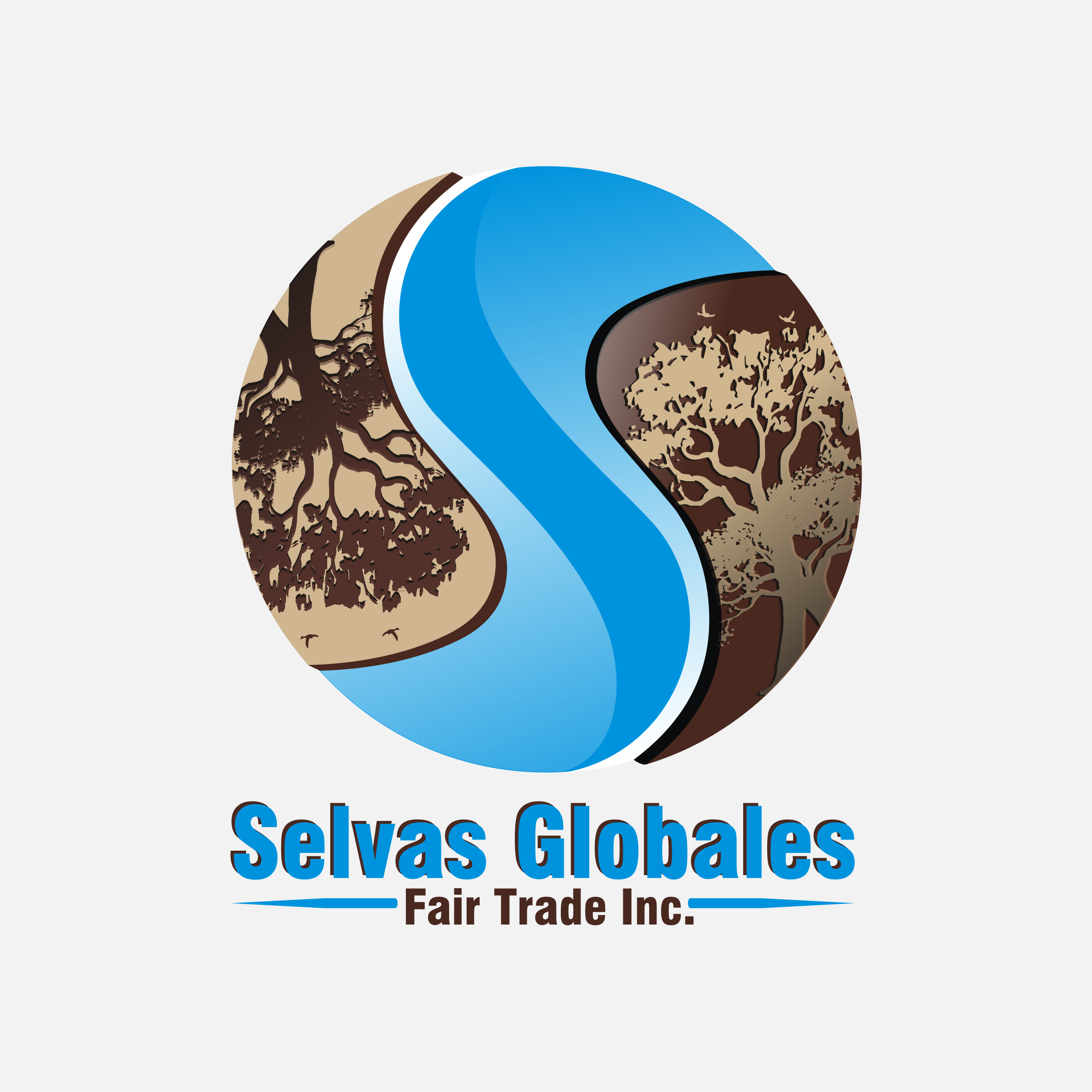 Logo Design by Private User - Entry No. 104 in the Logo Design Contest Captivating Logo Design for Selvas Globales Fair Trade Inc..