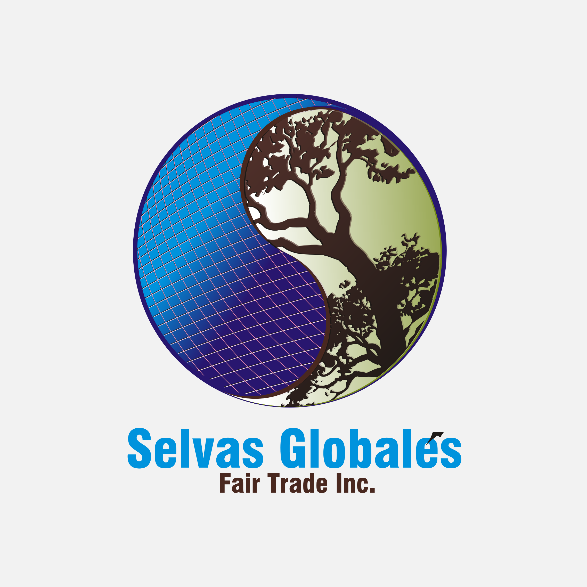 Logo Design by Private User - Entry No. 105 in the Logo Design Contest Captivating Logo Design for Selvas Globales Fair Trade Inc..