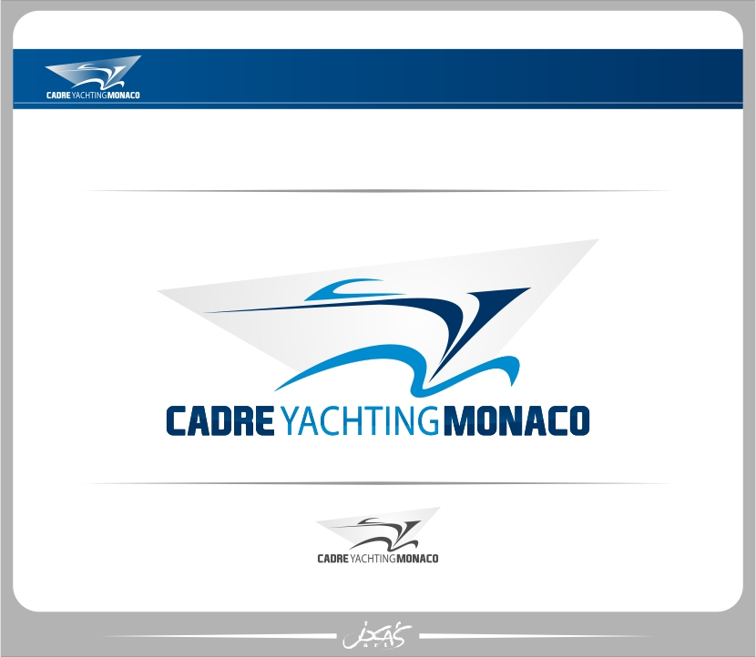 Logo Design by joca - Entry No. 221 in the Logo Design Contest New Logo Design for Cadre Yachting Monaco.