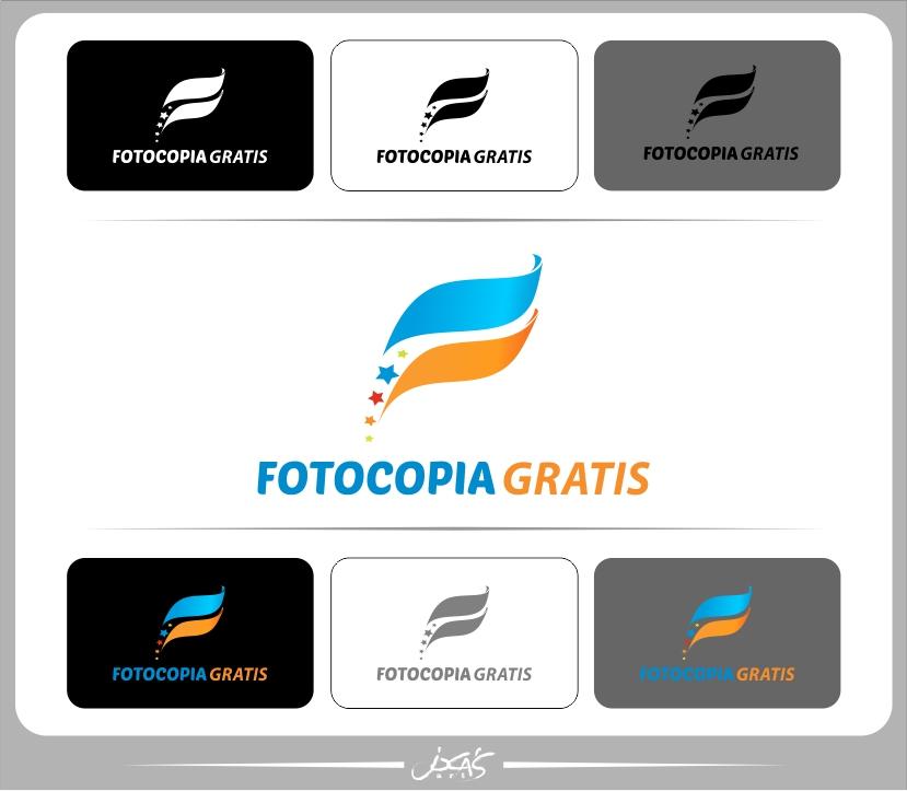 Logo Design by joca - Entry No. 112 in the Logo Design Contest Inspiring Logo Design for Fotocopiagratis.
