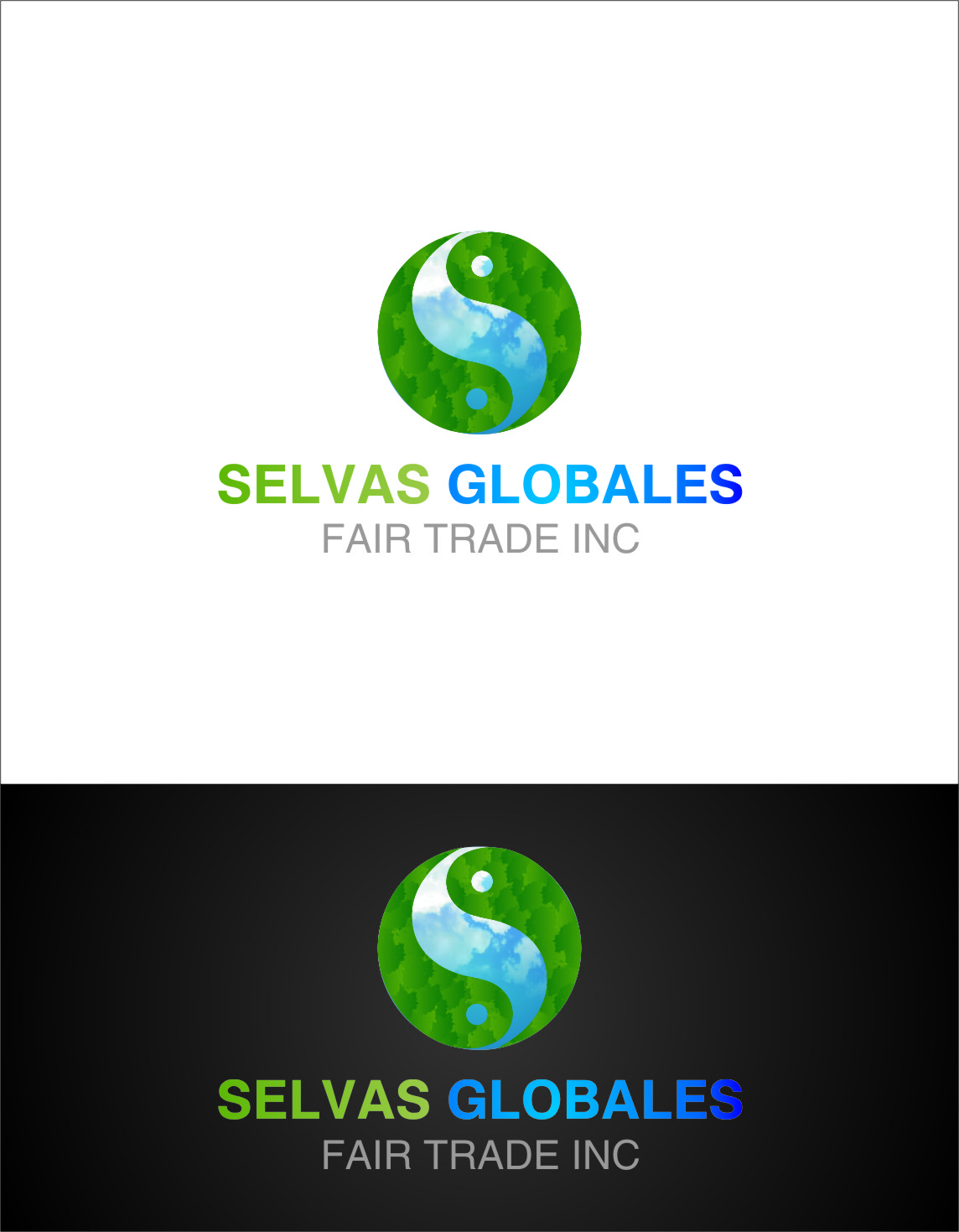 Logo Design by RasYa Muhammad Athaya - Entry No. 117 in the Logo Design Contest Captivating Logo Design for Selvas Globales Fair Trade Inc..