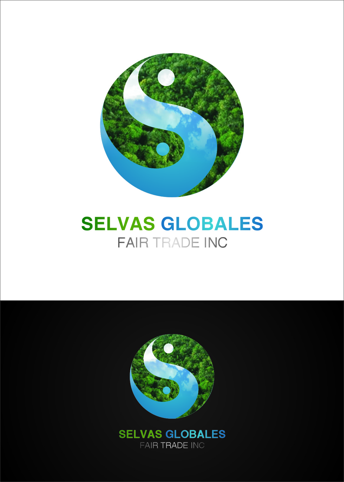Logo Design by Ngepet_art - Entry No. 118 in the Logo Design Contest Captivating Logo Design for Selvas Globales Fair Trade Inc..