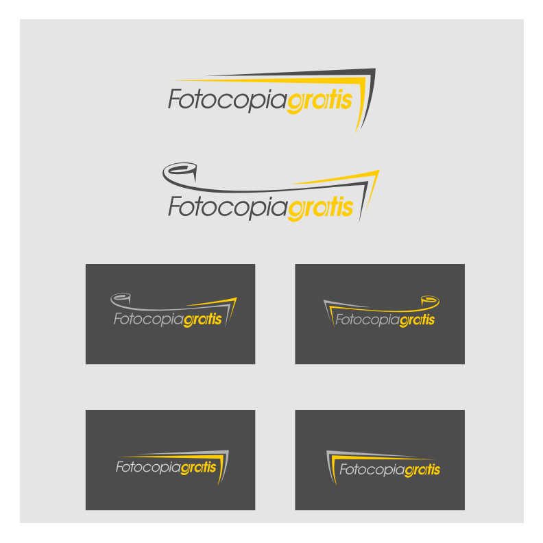 Logo Design by graphicleaf - Entry No. 125 in the Logo Design Contest Inspiring Logo Design for Fotocopiagratis.