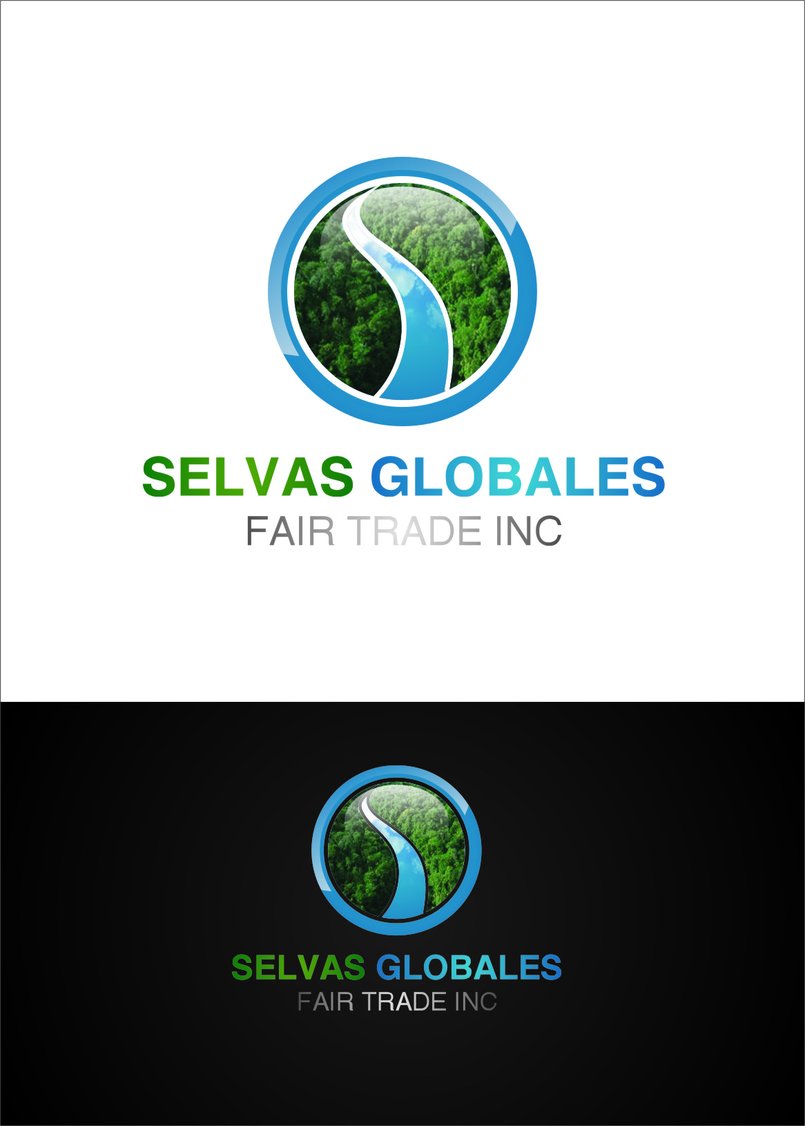 Logo Design by Ngepet_art - Entry No. 121 in the Logo Design Contest Captivating Logo Design for Selvas Globales Fair Trade Inc..