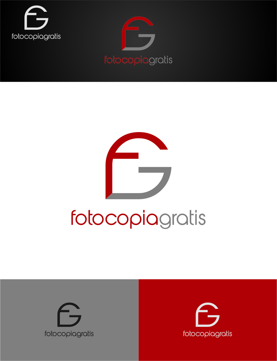 Logo Design by RasYa Muhammad Athaya - Entry No. 126 in the Logo Design Contest Inspiring Logo Design for Fotocopiagratis.