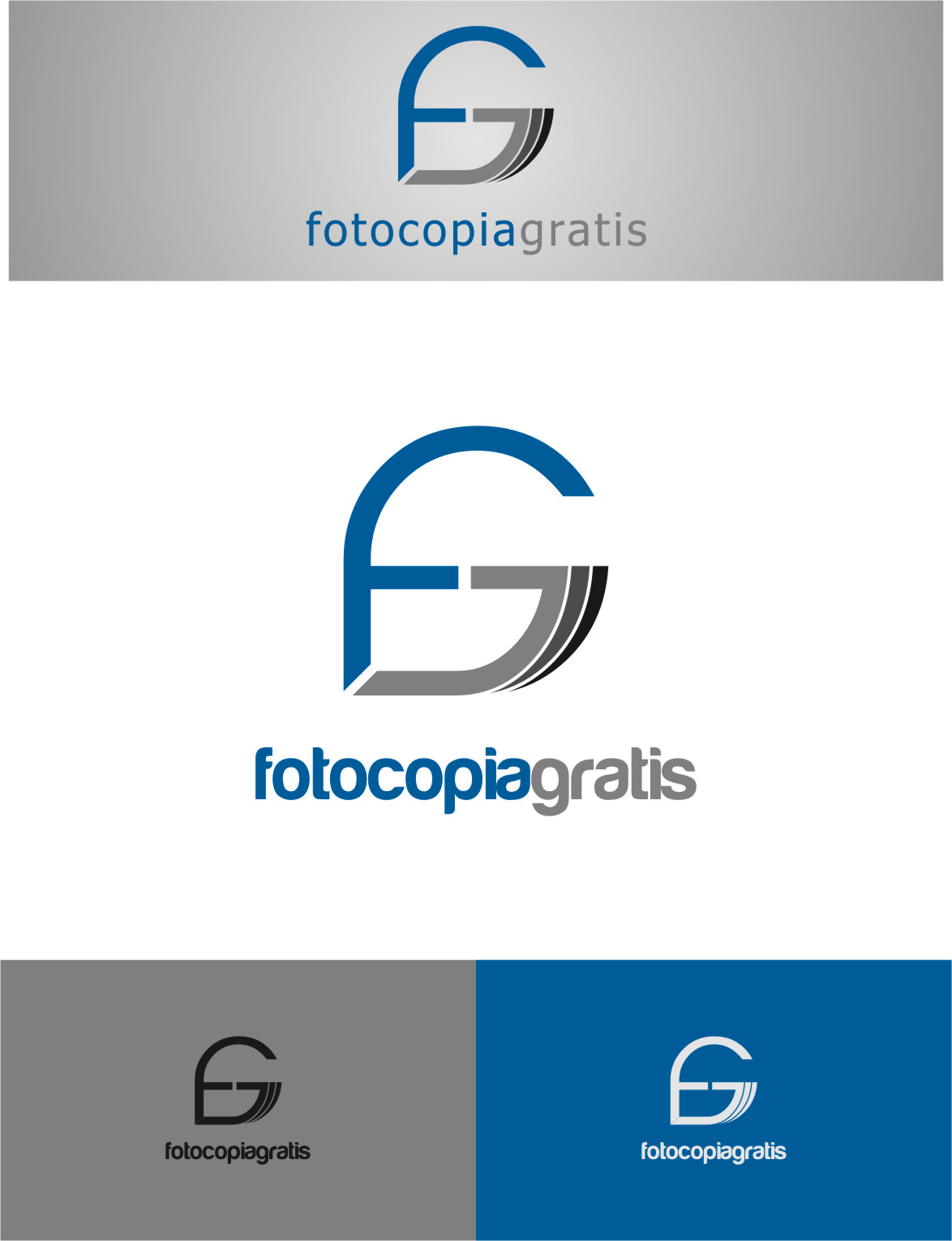 Logo Design by Ngepet_art - Entry No. 127 in the Logo Design Contest Inspiring Logo Design for Fotocopiagratis.