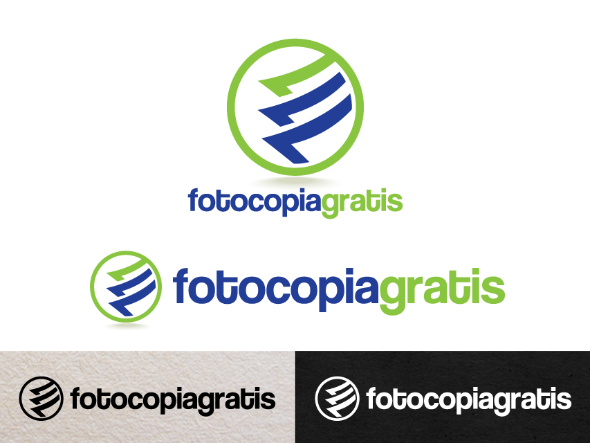 Logo Design by Richard Soriano - Entry No. 129 in the Logo Design Contest Inspiring Logo Design for Fotocopiagratis.