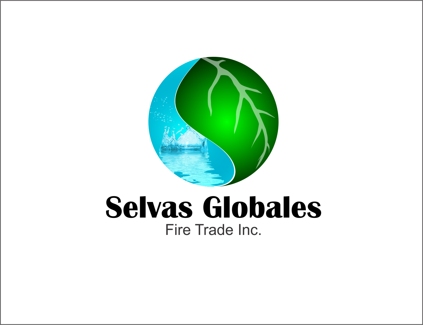 Logo Design by Agus Martoyo - Entry No. 123 in the Logo Design Contest Captivating Logo Design for Selvas Globales Fair Trade Inc..