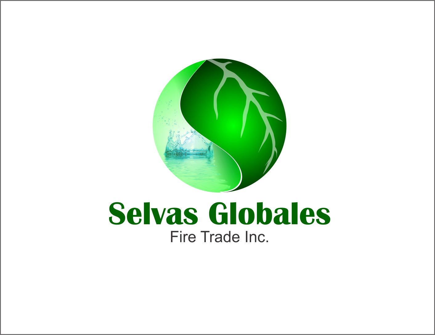 Logo Design by Agus Martoyo - Entry No. 124 in the Logo Design Contest Captivating Logo Design for Selvas Globales Fair Trade Inc..