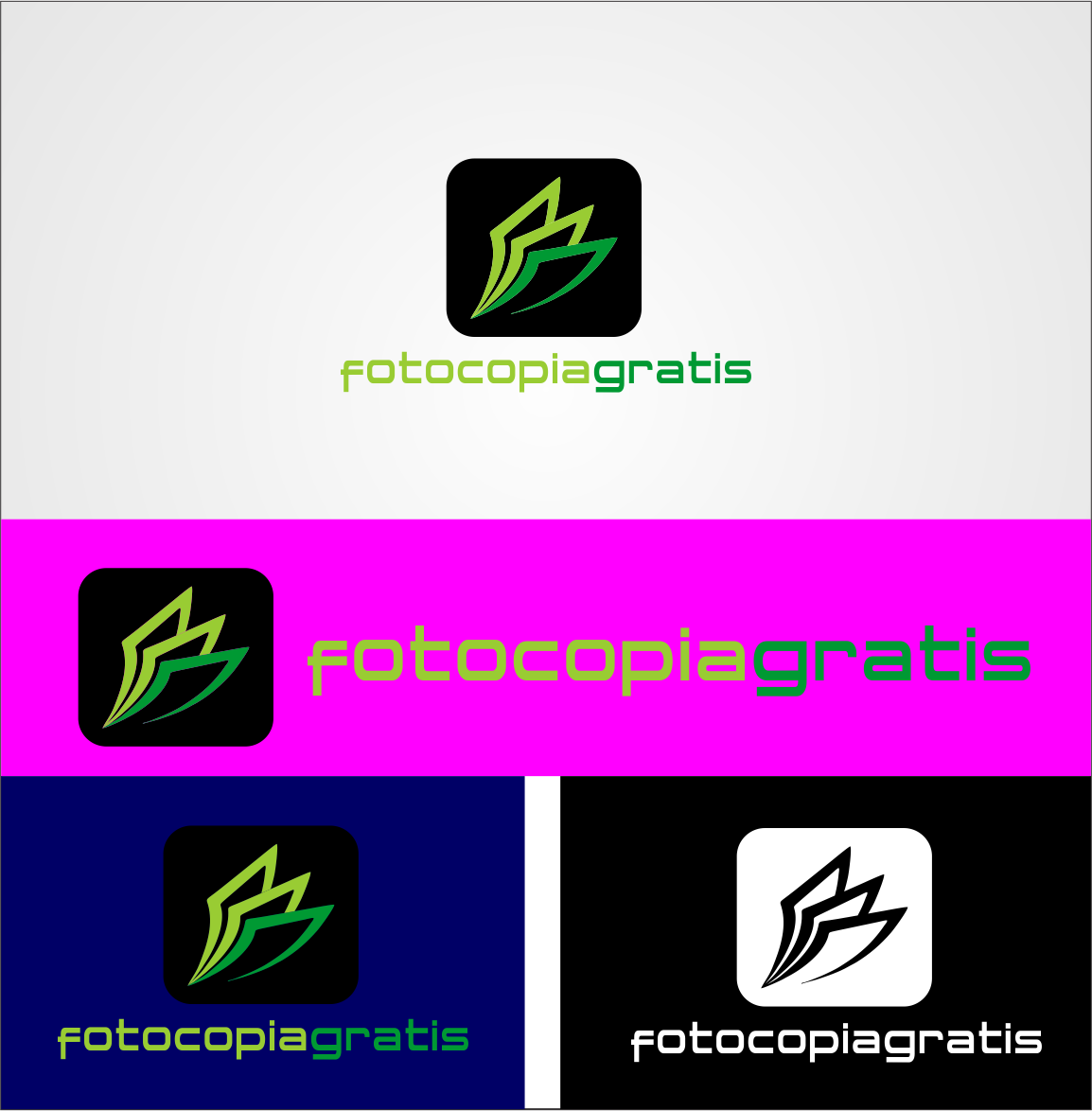 Logo Design by Agus Martoyo - Entry No. 138 in the Logo Design Contest Inspiring Logo Design for Fotocopiagratis.
