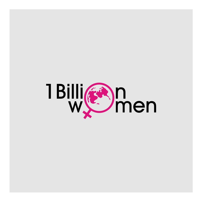 Logo Design by graphicleaf - Entry No. 1 in the Logo Design Contest Fun Logo Design for 1BillionWomen.