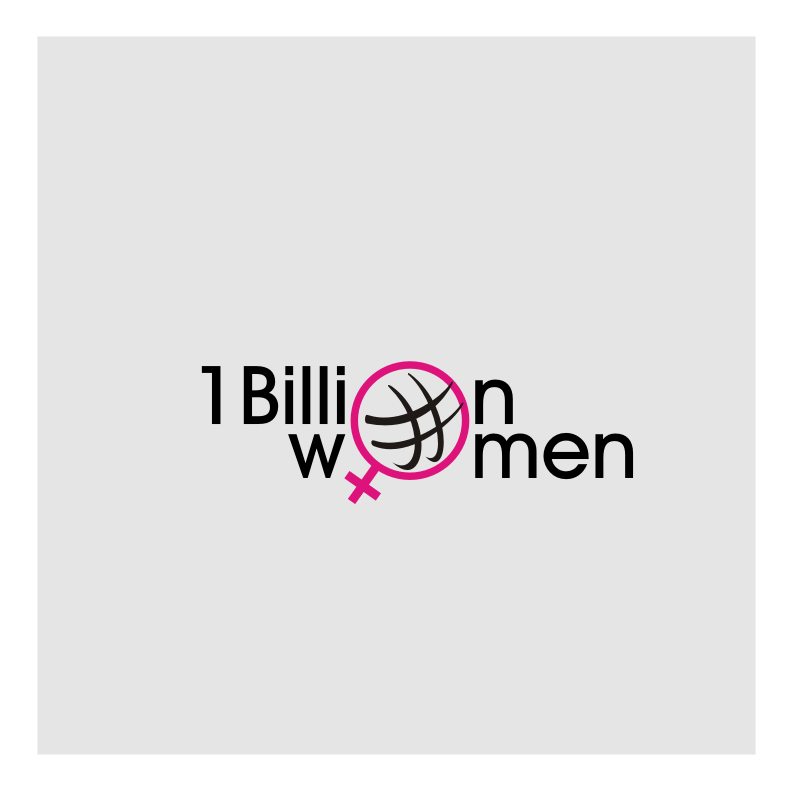 Logo Design by graphicleaf - Entry No. 2 in the Logo Design Contest Fun Logo Design for 1BillionWomen.