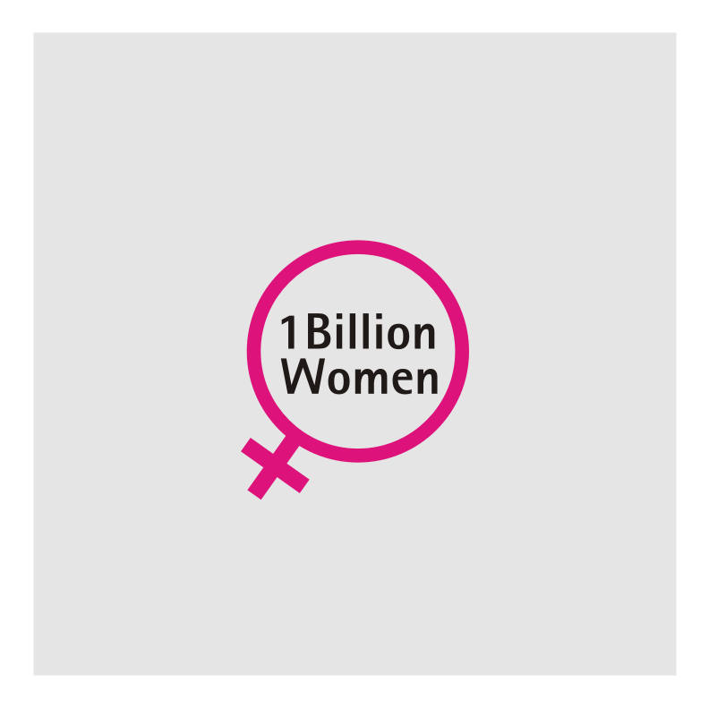 Logo Design by graphicleaf - Entry No. 4 in the Logo Design Contest Fun Logo Design for 1BillionWomen.