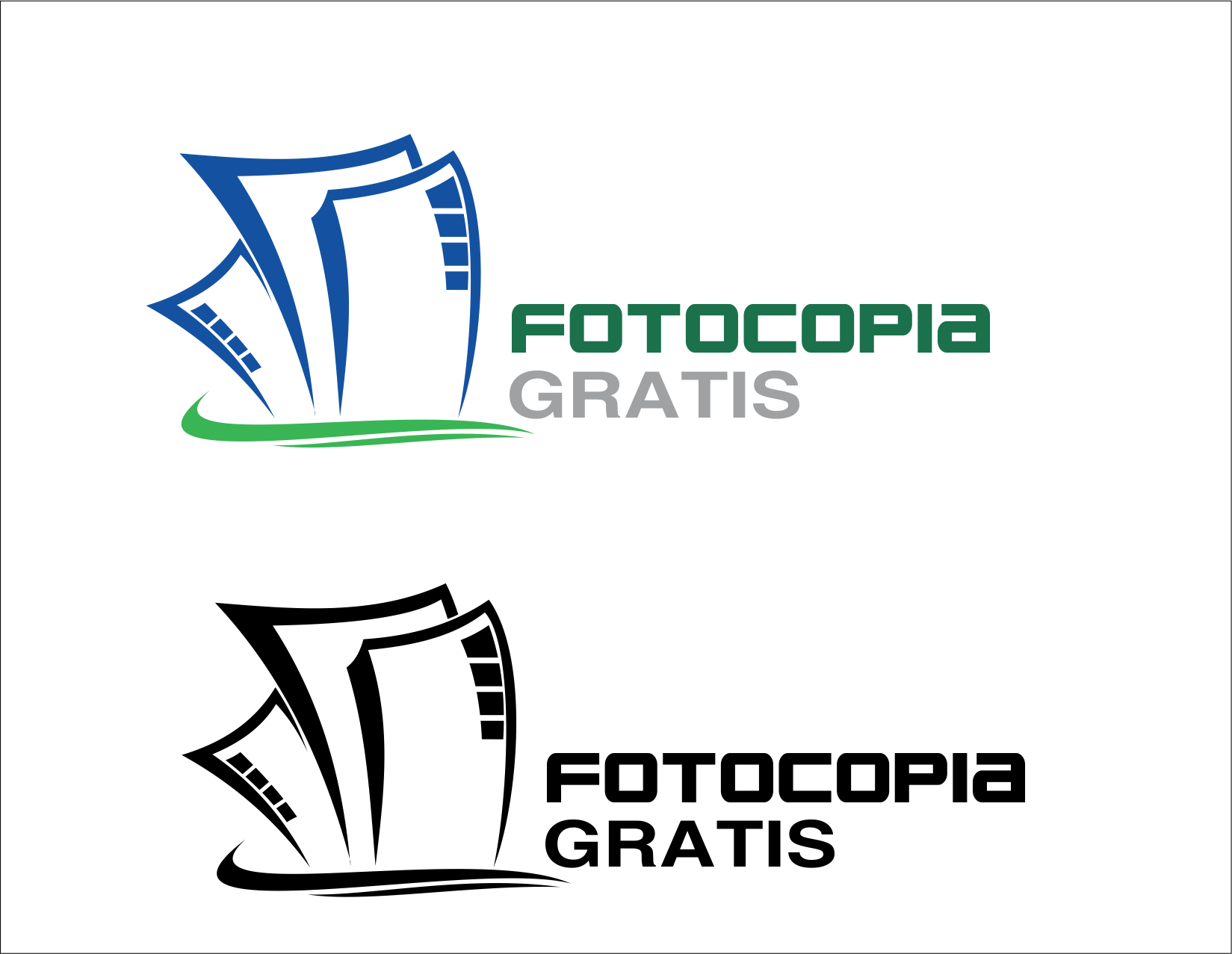 Logo Design by Yansen Yansen - Entry No. 145 in the Logo Design Contest Inspiring Logo Design for Fotocopiagratis.