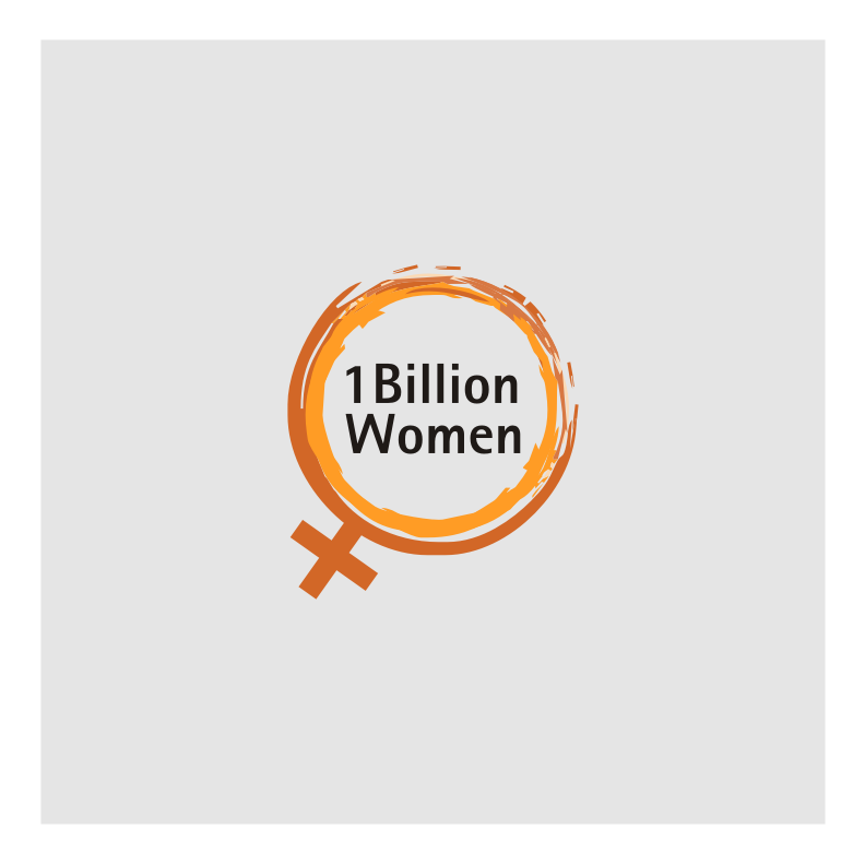 Logo Design by graphicleaf - Entry No. 5 in the Logo Design Contest Fun Logo Design for 1BillionWomen.