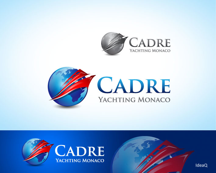 Logo Design by Private User - Entry No. 244 in the Logo Design Contest New Logo Design for Cadre Yachting Monaco.