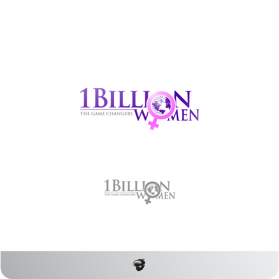 Logo Design by zesthar - Entry No. 7 in the Logo Design Contest Fun Logo Design for 1BillionWomen.
