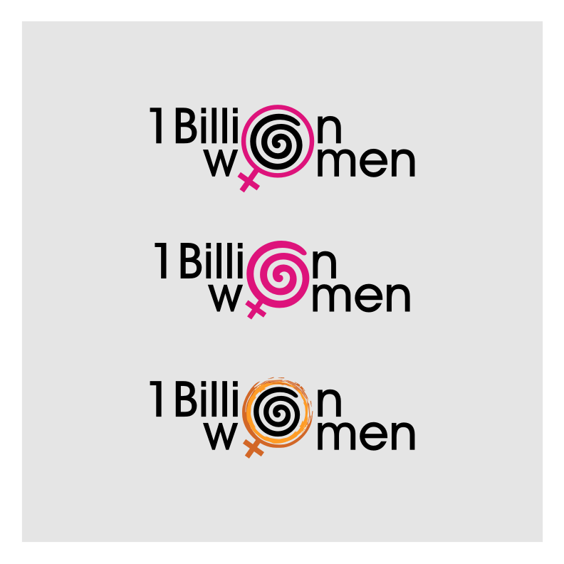 Logo Design by graphicleaf - Entry No. 8 in the Logo Design Contest Fun Logo Design for 1BillionWomen.