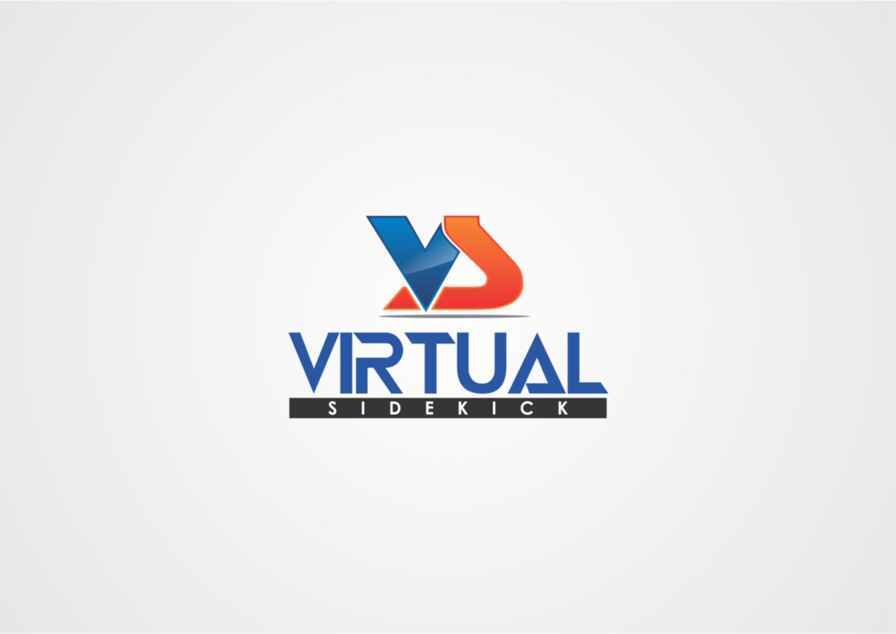 Logo Design by Private User - Entry No. 22 in the Logo Design Contest Fun Logo Design for Virtual Sidekick.